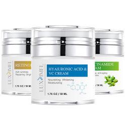 Cuidado de piel natural orgánica Anti Wrinkle Whitening Aloe Vera cremas faciales