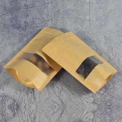 Recyclage de l'imprimante en ligne jaune aluminium boîte CUPS scellables traiter pharmacie Sac en papier kraft