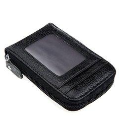 Cuir synthétique détenteur de carte RFID de crédit