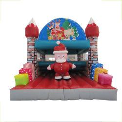 옥외 팽창식 아이 재미있은 산타클로스 도약자 활주