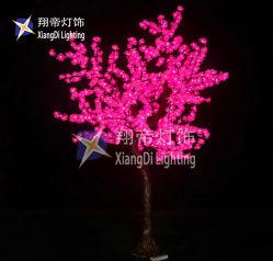 Noël de 2,5 m de l'éclairage LED 6FT Cherry Blossom Tree avec branches pliables pour l'intérieur