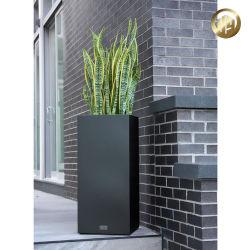 Fleur de plein air du semoir en métal noir/agriculture Pot de l'usine de jardinage