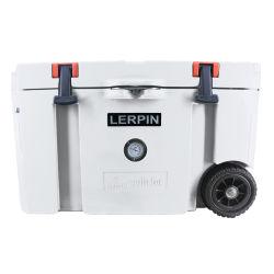 Lerpin Schaumkunststoff-Thermo Kasten-Kühlvorrichtung-im Freien beweglicher Kühlvorrichtung-Kasten mit Rädern