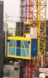 Amplamente usado Construção Elevador Sc100/100 Grua de construção de 1 tonelada de elevação de Materiais do passageiro