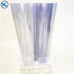 Pet de plástico de PVC rígido de folhas de rolos de filme brilhante para embalar