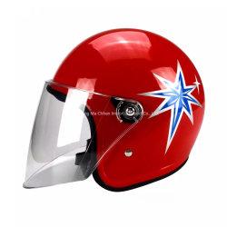 Half-Face шлем, открыть перед лицом шлем для мотоциклов