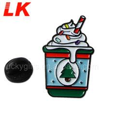 2020 personalizados de alta calidad de la Navidad Helados logotipo insignia de solapa