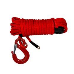 12-Strand ha intrecciato la corda sintetica dell'argano della corda di UHMWPE utilizzata nel rimorchio ed in imbracature