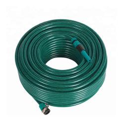 Outils de jardin d'irrigation de fibres souples en PVC tressé tube flexible d'eau