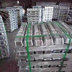 Lingotto in alluminio di alta qualità 99%-99.9% con prezzo di fabbrica, lingotto in alluminio 99%-99.9% dalla Cina Produttore con prezzo a buon mercato