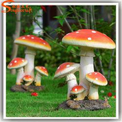 Venda quentes personalizadas Artesanato Artificial Cogumelo falsos para decoração de jardim
