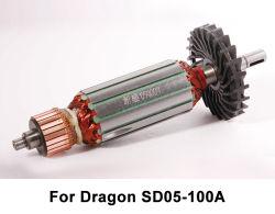 ドラゴンSD05-100Aの角度粉砕機のための動力工具の回転子