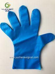 Синий одноразовые продовольственной передачи TPE домашних хозяйств перчатки