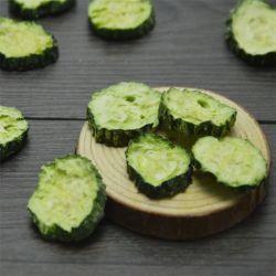 Высокое качество здоровые закуски Freeze сушеных овощей Fd огурец