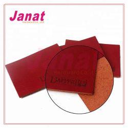 돋을새김되는 주문 청바지 PU 레이블 또는 의복을%s 금속 가죽 레이블 패치