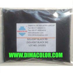 Complexo de corantes de solvente solvente solvente Rb preta 34 Corantes de tinta preta de corantes para revestimento de madeira