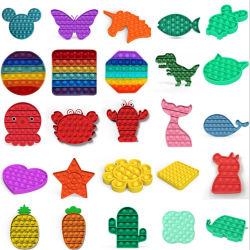 Горячий образования для детей игрушки Foxmind силиконового герметика нажмите всплывающее окно его купол сенсорных Fidget игрушки в наличии на складе