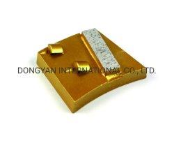 Suelo de hormigón Premium PCD de bonos de metal pulido de diamantes de los discos de las placas de molienda de zapatos