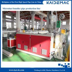 Комплект Microduct производственной линии Microduct оболочки производства машины/трубы бумагоделательной машины/трубы производственной линии/трубопровода редуктора экструдера