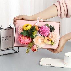최신 2020년 인기 있고 아름다운 색상의 크라프트 코팅 화초 가방 선물 선물용 Mother Day Paper Sleeve