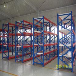 La cremagliera registrabile industriale accantona la scaffalatura d'acciaio a uso medio di memoria del magazzino