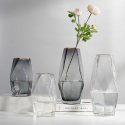 Decoração Jarras 100% Flor Artesanato Arte Murano vaso de vidro soprado de mão
