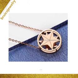 Prata personalizados/9K/14K/18K pendente de joalharia Amaldiçoada Colar colar de ouro para o comércio por grosso