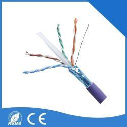 S/FTP CAT6 UTP 케이블 Cat5e 이더네트 케이블 컴퓨터 사용 UL Cm PVC 재킷 1000FT/Box