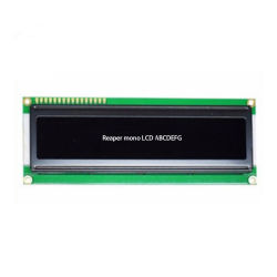 20X1 Character LCD Display met Stn Blue Glass Controller Splc780d Apply voor Equipment/Communication/Safety/POS/Meter en Electrical