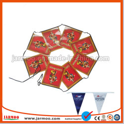 Décoration de bon marché Polyester la pendaison de papier et la bannière du pavillon