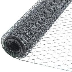 Belüftung-überzogener sechseckiger Draht-Filetarbeits-Hex Kettenlink-Zaun