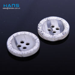 Hans rótulo personalizado Lucky Mãe de Pearl Botões da Camisa