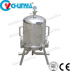 """Acciaio inox SS304 316L birra liquida di precisione latte da vino 10 Cartuccia multipla lenticolare micro membrana in PTFE da 40"""", 20 30 Alloggiamento del filtro"""