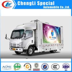Foton 4X2 LED de exterior P5 La pantalla de camiones para la venta de publicidad