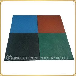 中国の工場多彩で重い密度の屋外の運動場のゴム製床タイル、ゴム製マット、子供Kidgardenのための床のマット
