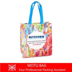 Liaison ultrasonique écologique à l'Épicerie sac fourre-tout sac shopping recyclé