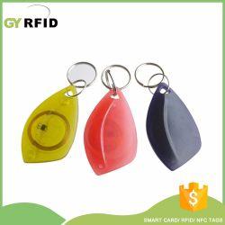 Pequeño Llavero RFID ID clave claves para el tiempo de reloj (KEC20)