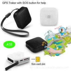 Плоский дизайн Mini GPS Tracker Гаджет с Sos кнопку A18