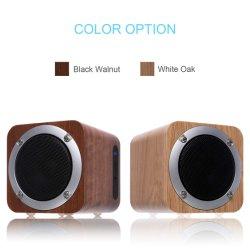 Draagbare Mini Draadloze Houten Sprekers Bluetooths met RoHS