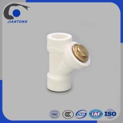 заводская цена PPR трубы фитинги Y тип клапана сетчатого фильтра с помощью медных