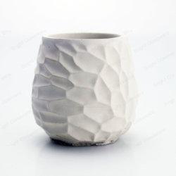 De unieke Pot van de Kaars van de Houder van de Kaars van het Cement Homewares Concrete Gebemerkte
