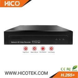 5MP H. 265+ 8CH Portas Poe Mini 16 canais IP CCTV de monitoramento de segurança independente da Rede Digital Video Recorder DVR Móvel WiFi câmera carro P2P NVR Interruptor do Alarme