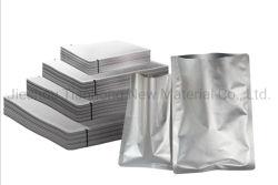 De zilveren ZijZak van de Opslag van de Verpakking van het Voedsel van de Plastic Zak van Verbinding 3 Verse Vacuüm Samengeperste