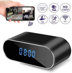 Mini-câmara Moda Câmera de vigilância em Casa WiFi Despertador