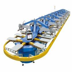 Big Capacity Woven Bag T-shirt Full Automatic Oval Screen Printing Machine