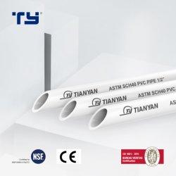 ASTM D2466 Standardplastik (Kurbelgehäuse-Belüftung CPVC PPR) Gefäß-Rohr