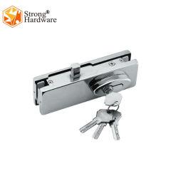 중국 공장 Frameless 유리제 미닫이 문 자물쇠