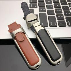 Unità flash USB personalizzata 64GB in pelle 128GB, unità flash USB 32gb, Disco USB (UL-L007)