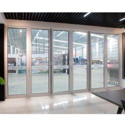 Estanqueidad Puerta Bi-Folding aluminio recubierto de polvo para el proyecto Villa