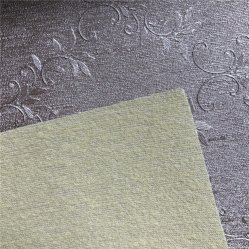 Bright Pink PU Leather Gleet Fabric/Imitation Leather Carpet Fabric/Stage Background Gleit-stof